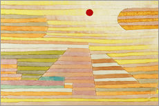 Gallery Print  Abend in Ägypten - Paul Klee