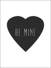 Gallery Print  Be Mine - Sei mein - Finlay and Noa