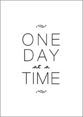 Gallery Print  One Day At A Time - Eins nach dem anderen - Finlay and Noa