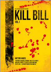 Gallery Print  Kill Bill - Tarantino Minimal Film Movie Alternative - HDMI2K