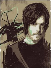 Gallery Print  Daryl Dixon, The Walking Dead - 2ToastDesign