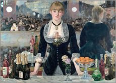 Gallery Print  Bar in den Folies-Bergère - Edouard Manet