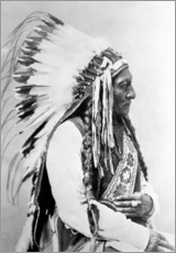 Gallery Print  Sioux-Häuptling Sitting Bull - John Parrot