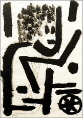 Gallery Print  in Deckung - Paul Klee