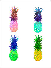 Gallery Print  Ananas - Rongrong DeVoe