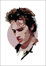 Wandsticker  Jeff Buckley - Anna McKay