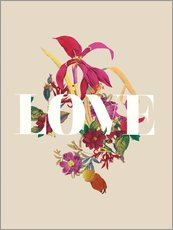 Gallery Print  Exotische Liebe - Nory Glory Prints