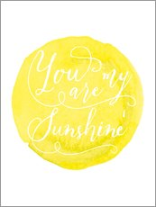 Wandsticker  You are my sunshine - Nory Glory Prints