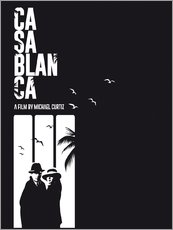 Wandsticker  Casablanca - Golden Planet Prints