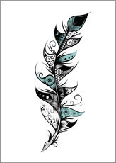 Gallery Print  Poetic Feather - LouJah