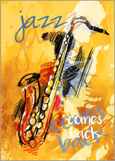 Gallery Print  jazz comes back - colosseum