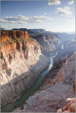 Gallery Print  Landschaft: Sonnenuntergang über Colorado River, Grand Canyon, USA - Matteo Colombo