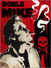 Gallery Print  Doble Mike, Death Proof - 2ToastDesign