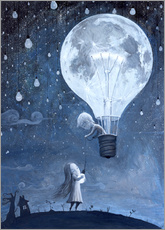 Gallery Print  He gave me the brightest star - Adrian Borda