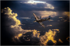 Gallery Print  The Graceful Spitfire - airpowerart