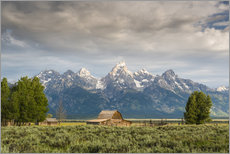 Wandsticker  Grand Teton - Denis Feiner