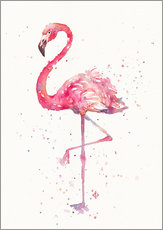 Wandsticker  Fancy Flamingo - Sillier Than Sally