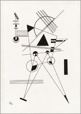 Gallery Print  Lithographie No. I - Wassily Kandinsky