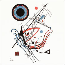 Gallery Print  Lithographie blau - Wassily Kandinsky
