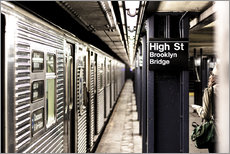 Gallery Print  New York City Subway - Sascha Kilmer
