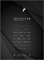 Wandsticker  Inception - Christopher Nolan - dear dear