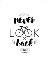 Gallery Print  Never look back - dear dear