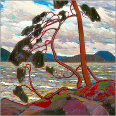 Wandsticker  Der Westwind - Tom Thomson