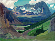 Wandsticker  Berg Oderay, Rockies - James Edward Hervey MacDonald