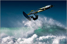 Gallery Print  Windsurfer in der Luft - Ben Welsh