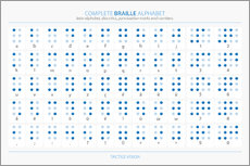 Gallery Print  Braille-Alphabet - Typobox