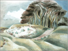 Wandsticker  Wittenham - Paul Nash
