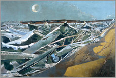 Gallery Print  Totes Meer - Paul Nash