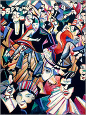 Gallery Print  Tanzsaal - Christopher Nevinson