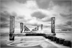 Gallery Print  Winter am Meer