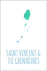 Wandsticker  Saint Vincent & the Grenadines - Stephanie Wittenburg