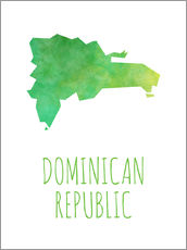Wandsticker  Dominican Republic - Stephanie Wittenburg