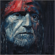 Gallery Print  Always On My Mind - Willie Nelson - Paul Lovering