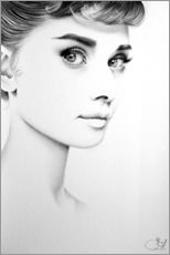 Gallery Print  Audrey Hepburn No. 1 - Ileana Hunter
