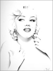 Gallery Print  Marilyn Monroe IV - Ileana Hunter