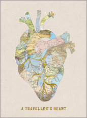 Gallery Print  A Traveler's Heart II - Bianca Green