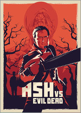 Wandaufkleber  Ash Vs the evil dead - Fourteenlab