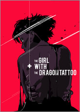 Gallery Print  The Girl with The Dragon Tattoo - Fourteenlab