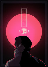 Wandsticker  Blade Runner - 2049 - Fourteenlab