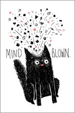 Gallery Print  MIND BLOWN - littleclyde