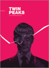 Wandsticker  Twin peaks - Fourteenlab