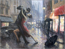 Gallery Print  Life is a Dance in The Rain II - Adrian Borda