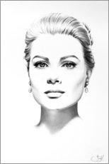 Acrylglasbild  Grace Kelly - Ileana Hunter