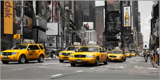 Gallery Print  New York's Taxis - Hannes Cmarits