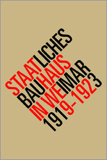Wandaufkleber  STAATLICHES BAUHAUS (VINTAGE) - THE USUAL DESIGNERS