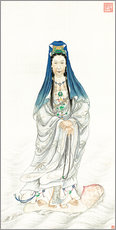 Gallery Print  Kaiserin Cixi als Guanyin - Chinese School